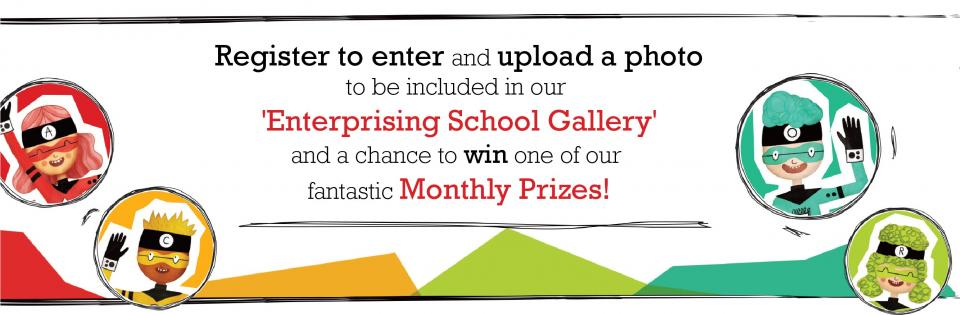 National Primary School Competition - Enterprise Troopers - Monthly Draw S