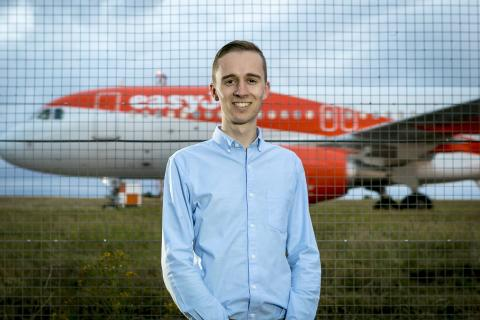 Joe Charman and Easy Jet Plane