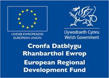 Cronfa Datblygu Rhanbarthol Ewrop | European Regional Development Fund