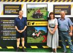 minister photo with farm safety ambassadors
