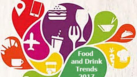 Food and drink trends graphic