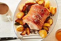 Roast loin of Welsh pork