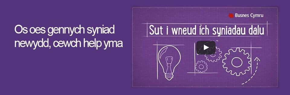 Make your ideas pay welsh slide