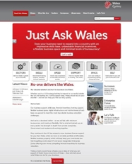 overseas investment into Wales
