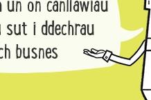 Darllenwch un on canllawiau i ddysgu suti ddechrau eich busnes