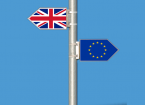 EU UK flags
